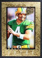 BRETT FAVRE - 1996 Fleer Ultra Sensations GOLD BORDER Green Bay Packers #39