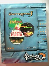68190 - Extreme 3 Toon Struck / Actua Soccer / Cannon Fodder [NEW / SEALED] - PC