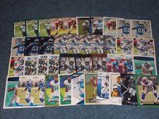 ERNIE SIMS 41 CARD LOT WITH 8 ROOKIES DETROIT LIONS PHILADELPHIA EAGLES