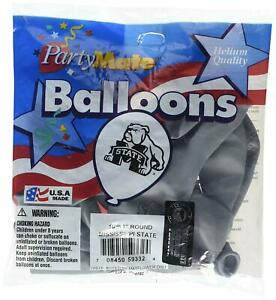 """Mississippi State Bulldogs NCAA College University Sports Party 11"""" Balloons"""