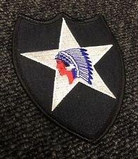 Original Vietnam Era US Army 2nd Infantry Division Color Tab Patch Abzeichen