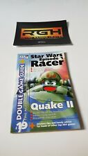 NINTENDO 64 MAGAZINE STAR WARS EPISODE 1 RACER + QUAKE 2 GAME GUIDE, CHEAT BOOK