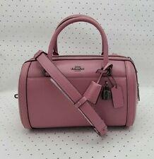 Coach ☆ ZOE BARREL SATCHEL Smooth Leather ~ Pink Rose ☆ mfsrp $398 NWT F76705