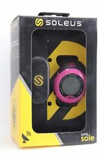Soleus GPS Sole - Black/Pink