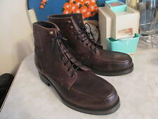 H by Hudson Thruxton Men's Leather Boots. size EU 43 US 10