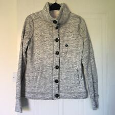 Brand New Hollister Women's Faux Fur Lined Button Up Fleece Size S RRP £39