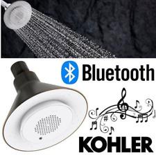 KOHLER Showerhead Shower Speaker Wireless Bluetooth Spray 5in Oil-Rubbed Bronze