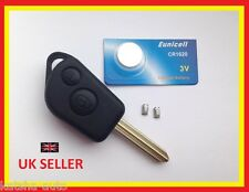 PEUGEOT PARTNER EXPERT REMOTE KEY FOB CASE REPAIR KIT NEW BLADE BATTERY SWITCHES
