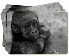 Baby Mountain Gorilla Picture Placemats in Gift Box, AM-5P