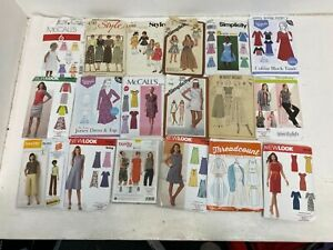 18 x Various Vintage Modern Sewing Patterns McCalls New Look G191 A7