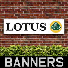 Lotus Car PVC Banner Garage Workshop Sign (BANPN00057)