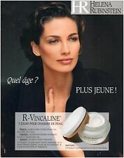 ▬► PUBLICITE ADVERTISING AD Crème HELENA RUBINSTEIN R-Vincaline