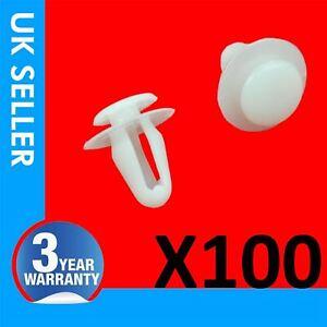 100X For Toyota Auris Cruiser Daithatsu Door Moulding Panel Clips 09409-08320