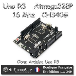 Uno R3 - ATmega328P Mega328P - CH340G - RobotDyn - Clone Arduino Uno R3