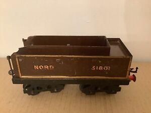 Vintage O Gauge Clockwork  Locomotive Hornby Or Similar No2 Locomotive Tender
