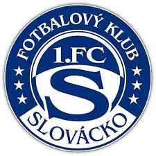 """1. Fc Slovacko Czech Republic Football Soccer Car Bumper Sticker Decal 4.6""""X4.6"""""""