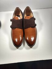Gino Vitale Double Monk Strap Men's Two Tone Loafer