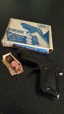 Ancien rare jouet Pistolet à bouchon tôle BOMBARDE JEP Années 50