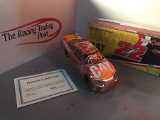 2006 Dave Blaney Caterpillar Copper Team Caliber Preferred 1/24 Autographed