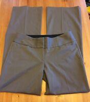 Express Womens size 6R Regular Editor Career Dress Pants Brown Stretch D77