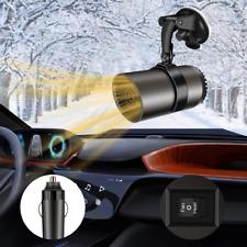 New listing Windshield Car Heater, NaCot Mini Car Defroster Defogger 12V 150W 2 in 1