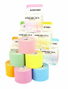 KINESIO LIGHT TOUCH Kinesiology Tape - 5m x 5cm (6 Colours) for Sensitive Skin
