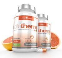 CitriTherm Natural Fat Burner Sinetrol 120 Fat Burn Capsules Evolution Slimming