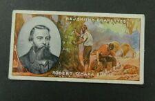 Cigarette Card F.& J.Smith's - Famous Explorers 1911 - Robert O'Hara Burke #10