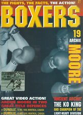 """BOXERS MAGAZINE ARCHIE MOORE """"FIGHTS,FACTS,ACTION"""" VOLUME  #19  1996"""