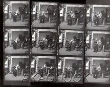 Imitating Movie Director R HENDRICKSON Negatives & Photo Contact Sheet D904