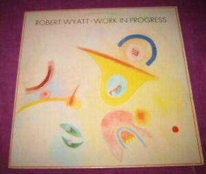 ROBERT WYATT - WORK IN PROGRESS -ROUGH TRADE UK 1988 MINI LP VERY SCARCE 4 TRACK