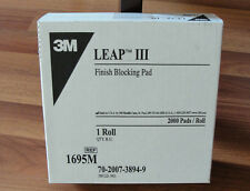 3Boxes 3M 1695 III Finish Blocking Leap Pads Roll of 2000