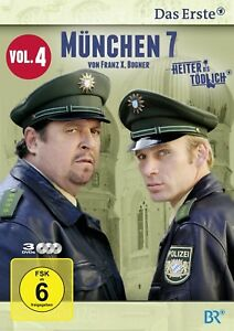 MÜNCHEN 7 - VOL. 4 3 DVD DRAMA SERIE NEU A.GIEBEL/M.GRUBER/F.KARLHEIM/+
