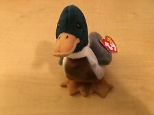 TY Beanie Baby JAKE THE DUCK Rare/Retired Vintage Birthday April 16 1997 JKT11