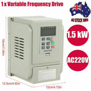 1.5KW Variable Frequency Drive VFD Speed Controller Inverter for 3-phase Motor