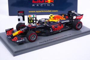 Modellino F1 Sergio Perez - Red Bull RB16B Vincitore Baku 2021 - Scala 1:43 S...