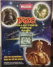 COMPLETE STAR WARS TAZO COLLECTORS FORCE PACK SIGNED BY JEREMY BULLOCH AUTOGRAPH