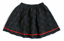Goth Lace Vintage Skirts for Women