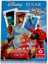 Jeu de 54 cartes à jouer DISNEY - PIXAR Ratatouille Némo Toys Story Buzz enfants
