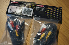 Altai Phono Leads REC/Play 2 Pairs Sealed bagged tagged unused order MINT