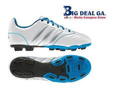 Adidas Matteo Nua TRX FG White/Silver/Blue V21868 Athletic Shoes New In Box