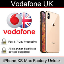 Vodafone UK iPhone XS Max Factory Unlocking Service