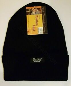 X2 Beanie Hats Mens Ladies Womens Slouch Winter Woolly Ski Knitted Warm