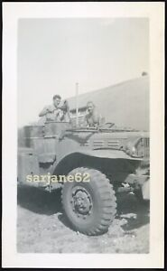 HANDSOME SHIRTLESS GREASE MONKEY MUSCLE MILITARY HUNK MEN VINTAGE PHOTO GAY INT