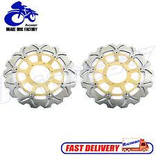 Front Brake Rotor Disc for Honda CBR929RR 2000 2001 CBR954RR 2002-2003 Gold New