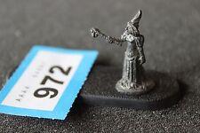 Citadel Ral Partha elfo noble 1980s Metal Figura elfos hechicera Mage asistente fuera de imprenta