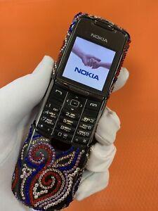 Nokia 8800 Classic Black Swarovski Meandr . Original Nokia phone.
