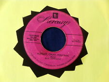 ELLA JOHNSON~ ALRIGHT OKAY YOU WIN~ ROCKER~ G++~IF YOU WOULD ONLY SAY ~ R&B 45
