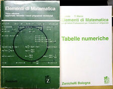 R. Levis e T. Marra, Elementi di matematica, Ed. Zanichelli, 2001