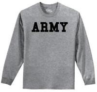 Mens Army L/S Tee Military Usa American Price Soldier Shirt